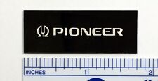 Pioneer Turntable Badge Logo For Dust Cover Metal Custom Made
