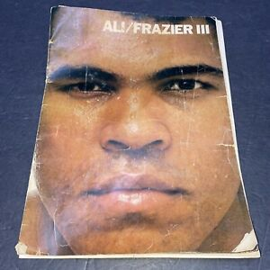 October 1, 1975 Joe Frazier vs. Muhammad Ali Closed Circuit TV Program