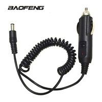12V DC Car Lighter Slot Charger Cable BaoFeng UV-5R 8W UV-82 UV-9R Walkie Talkie