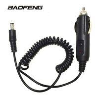 12V DC Car Lighter Slot Charger Cable For BaoFeng UV-5R UV-82 UV-9R WalkieTalkie