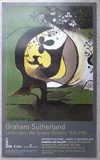 Graham SUTHERLAND-Paesaggi, SCENE DI GUERRA RITRATTI 2005 arte mostra poster