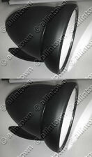 "NEW Black Side View GT Talbot Style 4"" Bullet Sports Racings Mirrors Hot Rod"