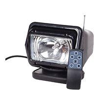 55w Xenon HID Search Work Light Remote Control Magnetic 12V Cigarette Lighter