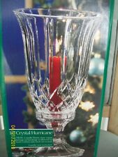 "2 Piece 12"" American Collection Crystal Hurricane Candle Vase"