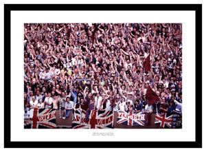 Aston Villa Fans 1982 European Cup Final Photo Memorabilia