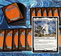 mtg WHITE EVRA COMMANDER EDH DECK Magic the Gathering rare cards angel zetalpa