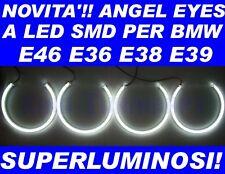 KIT ANGEL EYES LED SMD per BMW E36 E38 E39 E46 NO CCFL