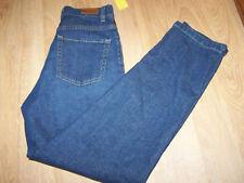 Women's Size 8 Regular Eddie Bauer Denim Blue Jeans Dark FEMME New
