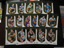 2014 NRL TRADERS 2013 HERITAGE ROUND SET OF 16 CARDS