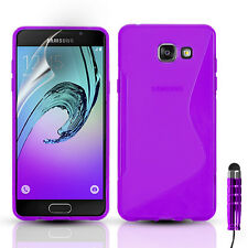 Slim Silicone Gel Phone Case Cover For Samsung Galaxy A3, A5 - 2015, 2016, 2017