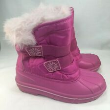 Circo Girls Snow Boots Pink Thermolite Winter Size 2