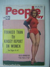 8/26/1953 People Today with 'Film Find of '53' Julie Newmeyer - 2nd Pony W.S.