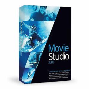 MAGIX SONY VEGAS Movie Studio 13, Acid Music Studio, SoundForge Audio Studio