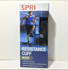 SPRI Resistance Cuff Leg/Ankle Band Heavy - Up To 50lbs Of Resistance - NEW