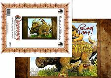 Cavewoman 2014 Convention book A Limited to 1000 sign Budd Root COA FREE UK POST