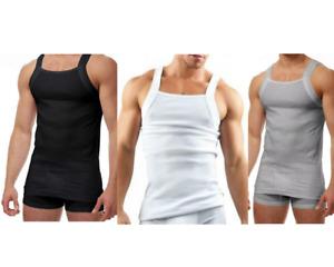 Papi 3-Pack Pure Premium Cotton Modern Square Neck Tank Style,Choose Color-Size