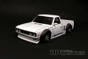 RC Body Car Drift Touring 1:10 Datsun 620 Pickup APlastics New Shell