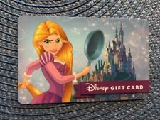 Rapunzel Disney gift card collectible only - no $ value or points on it