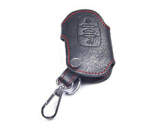 Genuine Leather Remote Key Chain Holder Case Cover Fob for AUDI Q5 A5 A4L 3BT