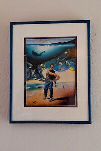 Wyland prints set of two framed