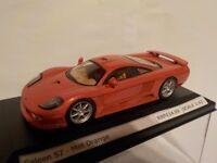 Saleen S7 - Met Orange, Diecast Metal Model, 1/43 Scale