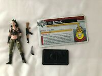 GI JOE Zanya 3.75in Figure from Dreadnoks Battle Set 30th Anniversary Hasbro