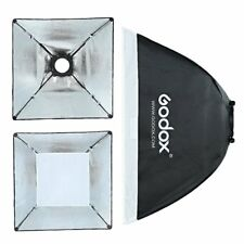 "Godox 60x60cm Softbox Universal Mount for Studio Strobe Bulb Flash Light 24""x24"""