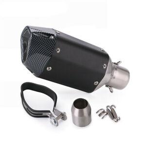 Universal 38-51mm Motorcycle Exhaust Pipe Motorbike Muffler Slip-On Escape Pipe