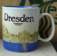 Starbucks City Mug Tasse Becher Cup Dresden Deutschland 16oz NEU