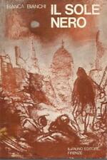 (Bianca Bianchi) Il sole nero tavole fuori testo di Pietro Annigoni 1974 Il faun