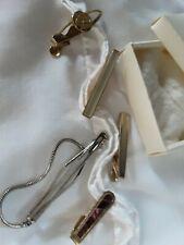 Vintage Tiepins Various Designs Bundle: Five Mens Jewellery