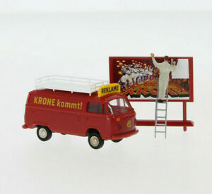 "BREKINA 33547 VW T2 Boîte "" Cirque Couronne Annonce "", H0, Neuf 2020"