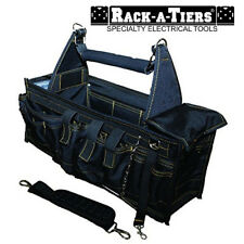 Rack-A-Tiers Large Super Tray Tool Carrier Tool Box Tech Bag 44 Pockets 43706
