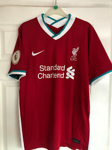 Original Signed Liverpool 2020-21 Shirt by Andy Robertson
