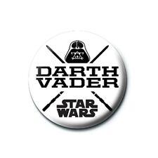 Genuine Star Wars Darth Vader Helmet Button Badge Pin Lucasfilm Dark Side Force