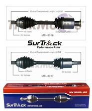 For Mercedes E320 E430 4Matic AWD Pair of Front CV Axle Shafts SurTrack Set