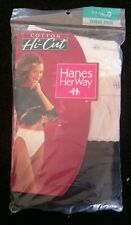 Hanes Her Way Hi-Cut panties Multi-Color- NEW IN PACKAGE 1996 and 1997 Size 9