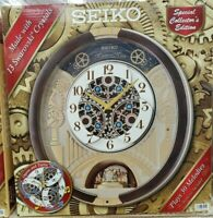 🎄New Seiko Melodies in Motion 2020 Animated Musical Christmas Carol Wall Clock