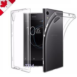 For Sony Xperia XA1 XZ1 XZ Premium X Performance Soft Transparent Case Cover