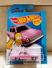 Hot Wheels THE SIMPSONS FAMILY CAR TV SERIES COCHE HOMER Blister USA