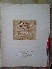 LIBRO Dos documentos notariales del siglo XV testimonio primeros ensayos SEDA.