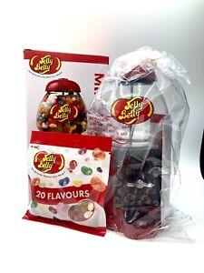 Jelly Belly Bean Machine Sweet Candy Dispenser & Mini Bean Bin - Red Metal