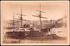 Bretagne. Brest. Croiseur Cuirasse de 1ere classe #2. Cabinet vers 1865