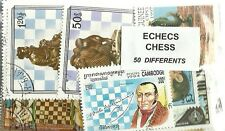 "Lot timbres thematique  "" Echec"""