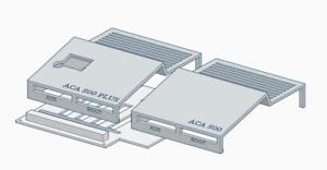 Amiga 500 ACA500 ACA500-Plus Case V2 Connector 3D Printed