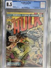 Incredible Hulk #180 CGC 8.5 1st. Wolverine Appearance, Grail Alert!