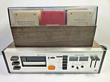 Vintage Realistic TR-802 Dolby 8-Track Music Player Recorder Deck Bundle