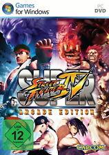 Super Street Fighter IV - Arcade Edition (PC Game, 2011, DVD-Box)