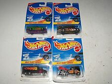 "Hot Wheels 1996 Heat Fleet Series #537-539 Complete Set 4 ""New Item Unopened"""