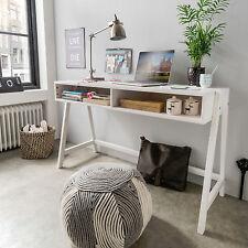 Schreibtisch, höhenverstellbar, Kiefer Massivholz weiss, UVP 199 €